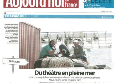 Donvor - Aujourd'hui en France - 24.10.2017