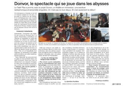 25-11-2018 Ouest France Donvor
